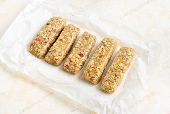 Honey granola bar