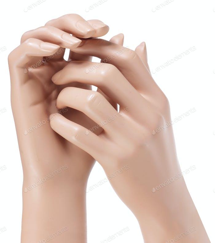 Schaufensterpuppe Hände
