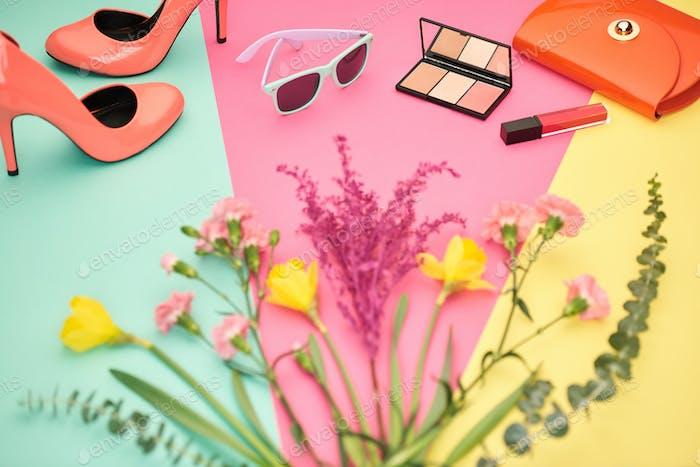 Fashion Design Accessories.Essentials..Cosmetic