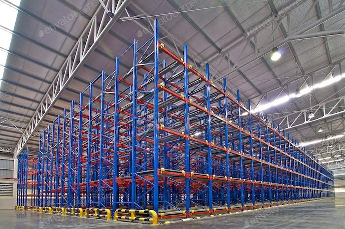 Industrial shelving metal pallet racking storage system