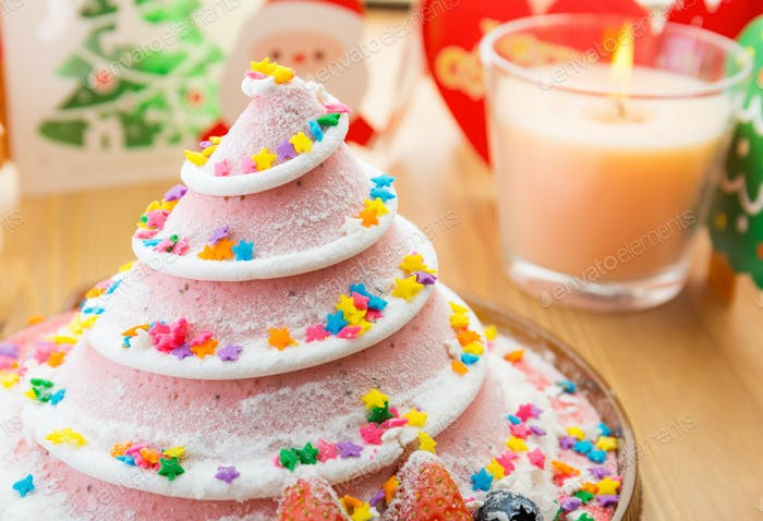 Weihnachtskuchen für Party