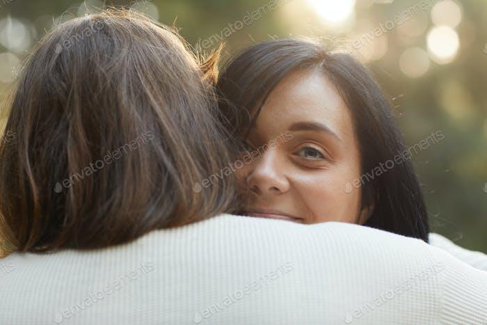 Lesbisch mit ihrer Freundin