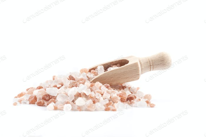 Salt Scoop on Pile