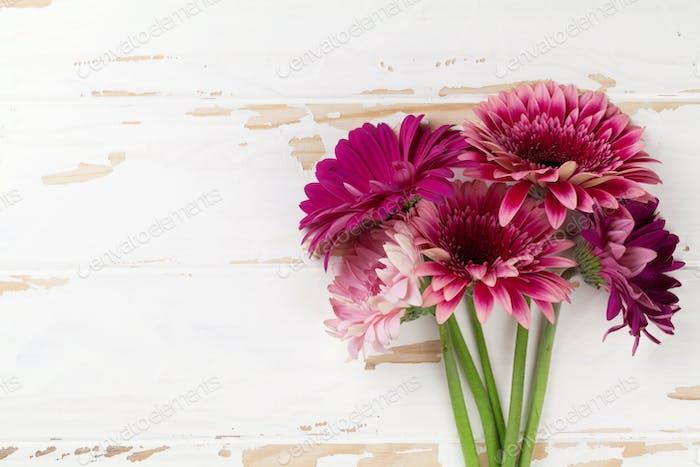 Gerbera flowers bouquet
