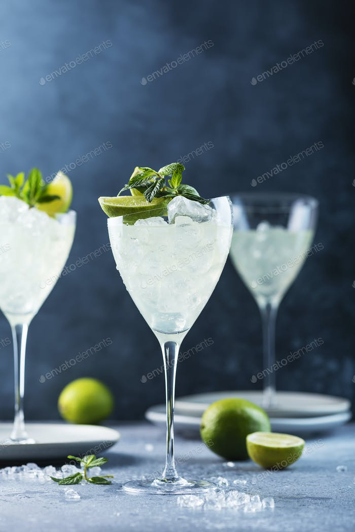 Sommer-Cocktail Mojito