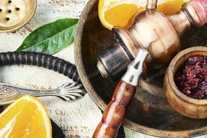 Orange hookah tobacco