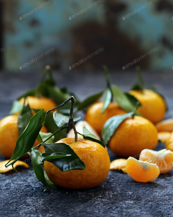 Ripe Organic Tangerines