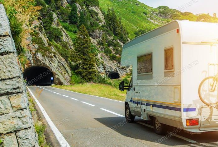 Camper Van Summer Trip