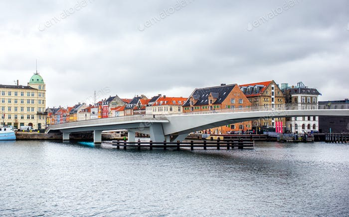Inderhavnsbroen bridge in Copenhagen