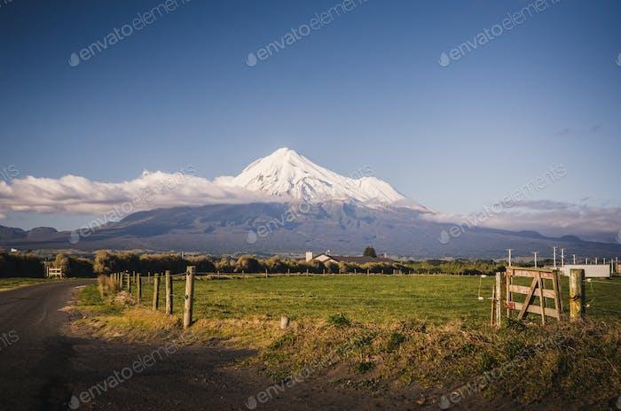 Mount Taranaki, the Fuji of New Zealand