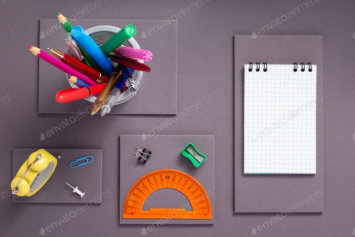 school accessories and office
