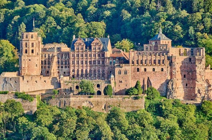Heidelberg Stadt am Neckar, Deutschland