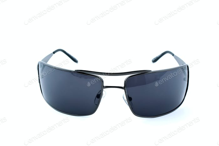 Black sunglasses frontal view