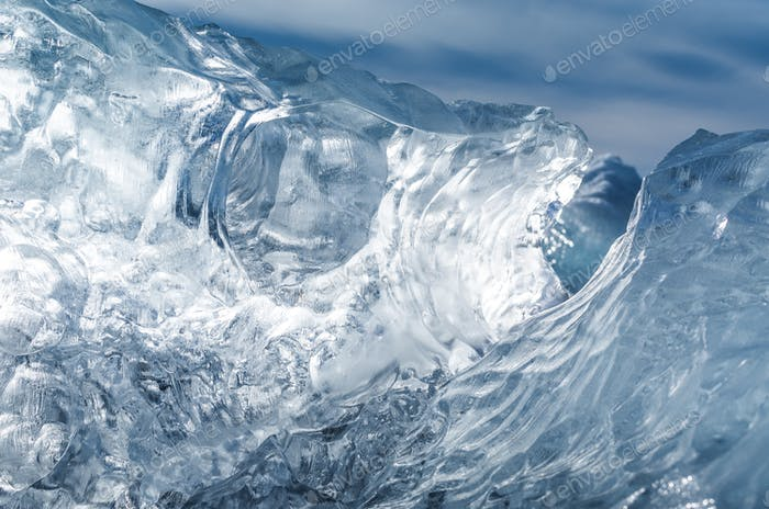 Iceberg texture