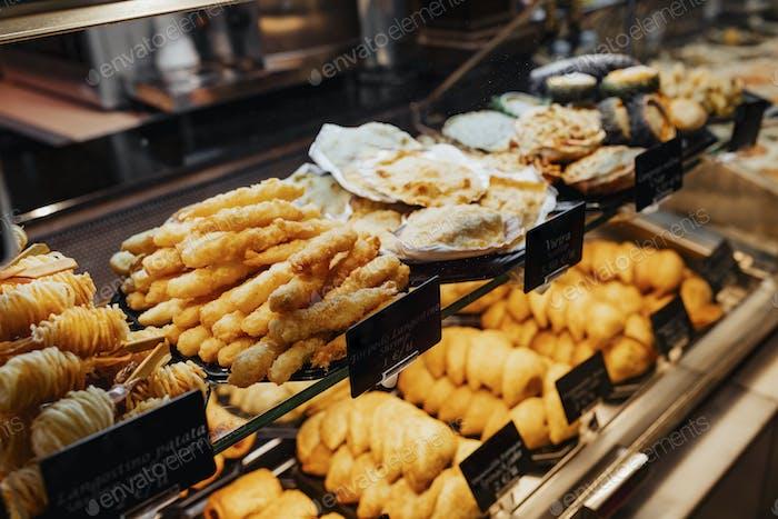 Bäckerei in Spanien
