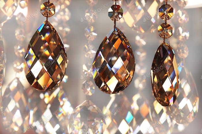 beautiful bright chandelier