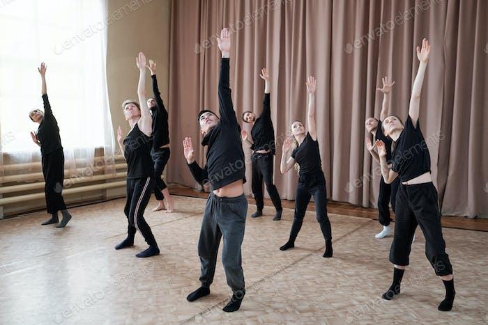Dance Performance Rehearsal