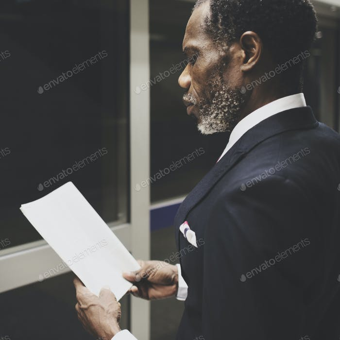 Businessman Enterprise Opportunity Manager Concept