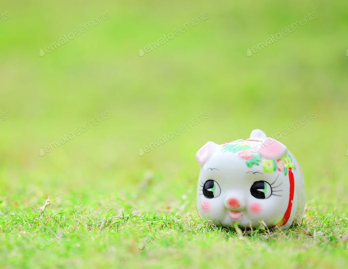 Chinese style piggy bank