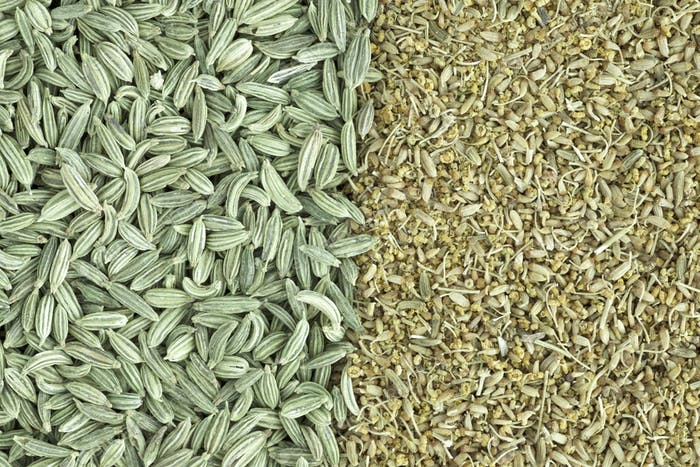 Fennel Seeds and Pollen