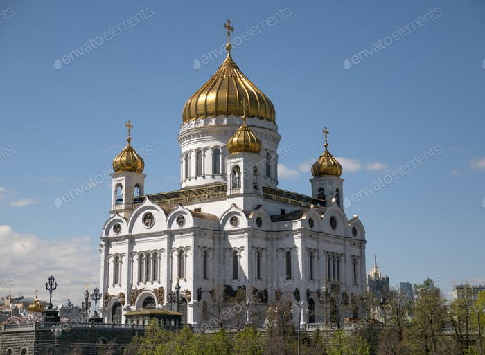 Orthodox Church of Christ the Savior in Moscow