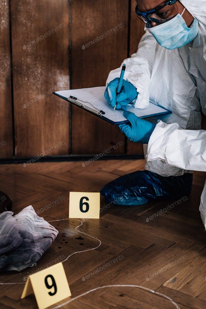 Tatort Detektiv Untersuchung Beweise