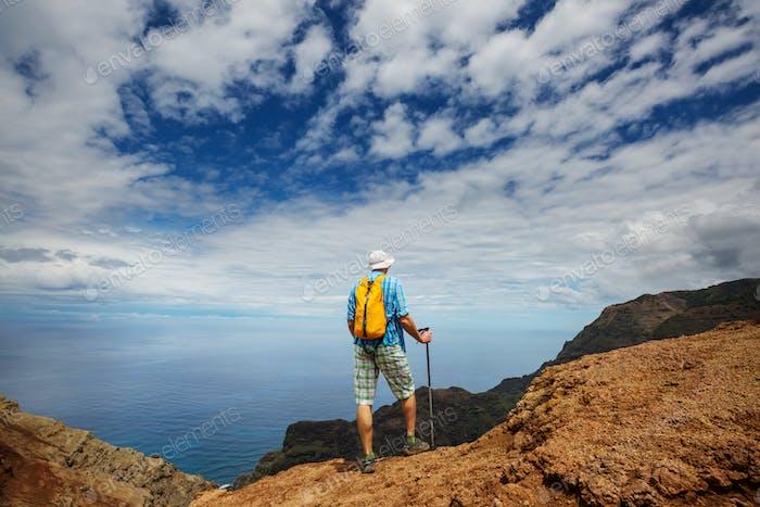 Wanderung in Na Pali