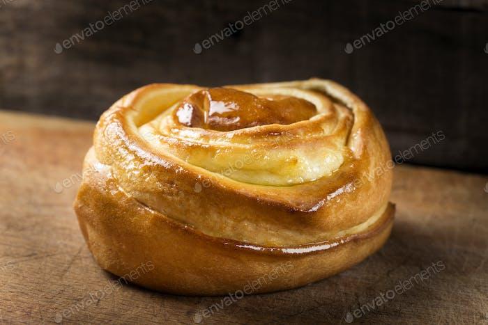 Süßer Spiralkuchen