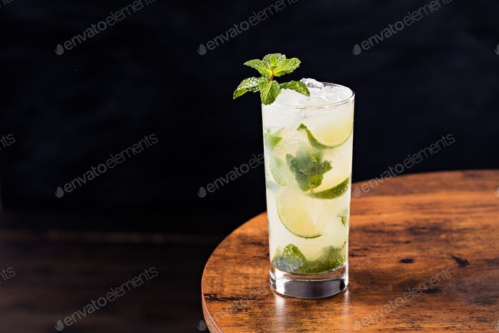 Refreshing Rum Mint Mojito Cocktail