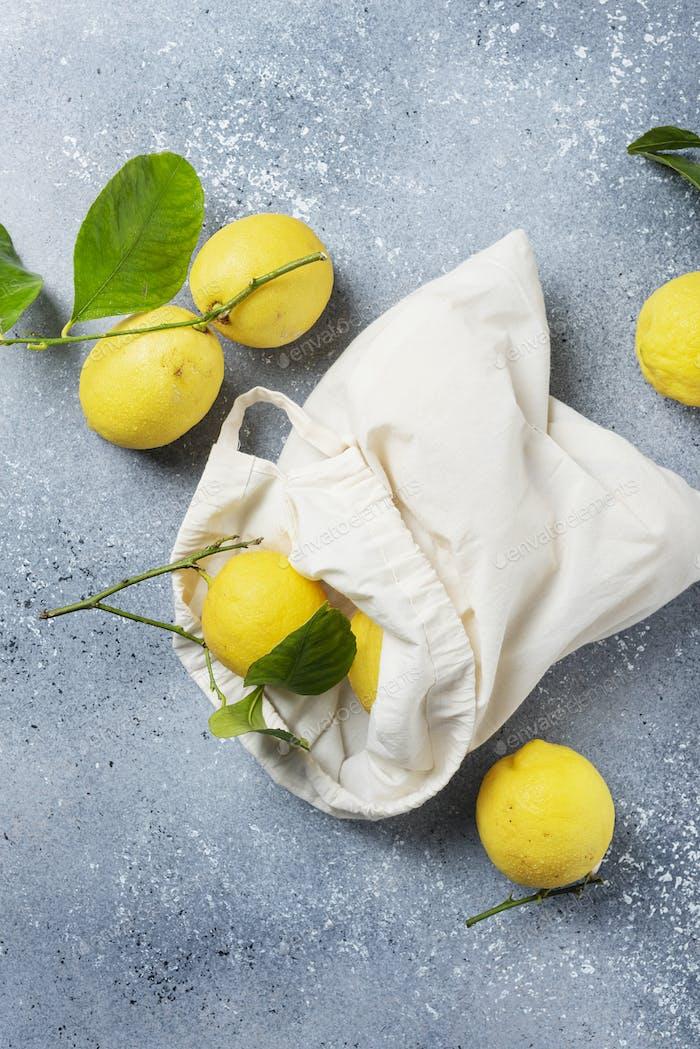 Fresh biological lemons