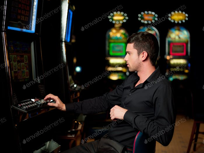 slot machine player