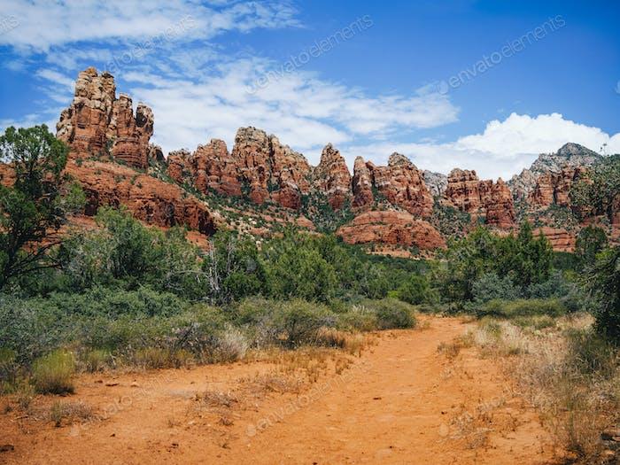 Red Rocks in Sedona Arizona