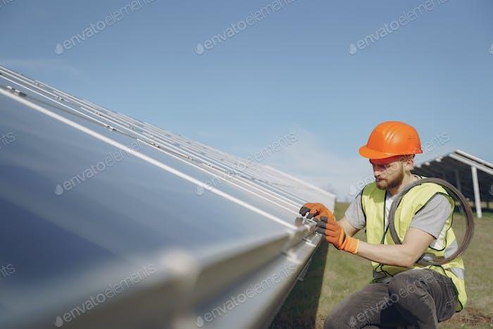 Alternative energy ecological concept