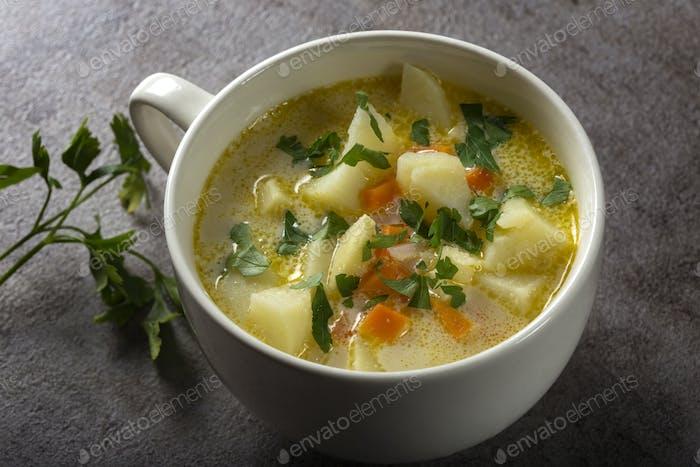 Gesunde Suppe