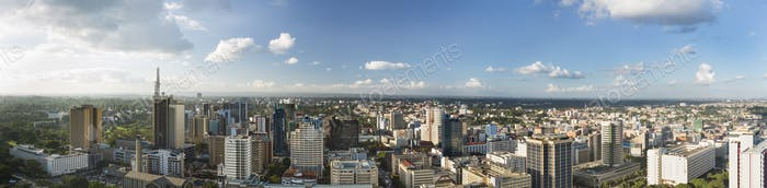 Nairobi Center Panorama, Kenia