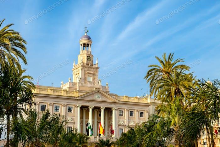 City hall of Cadiz, Spain