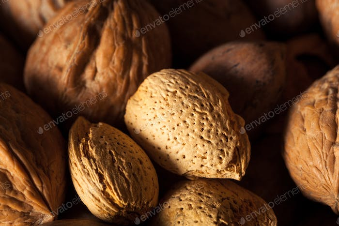 Assorted Mixed Organic Nuts