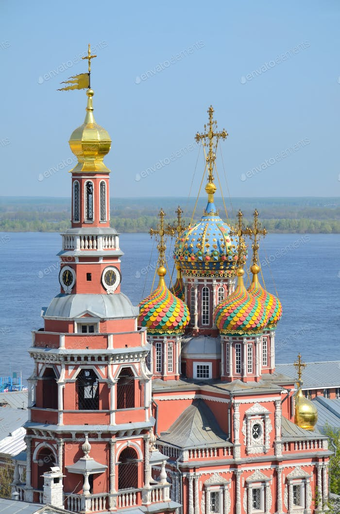 Orthodox church in Nizhny Novgorod