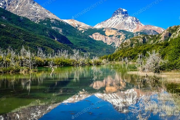 Cerro Castillo Reflexion