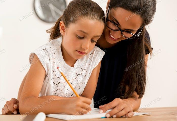 Hilfe bei Hausaufgaben