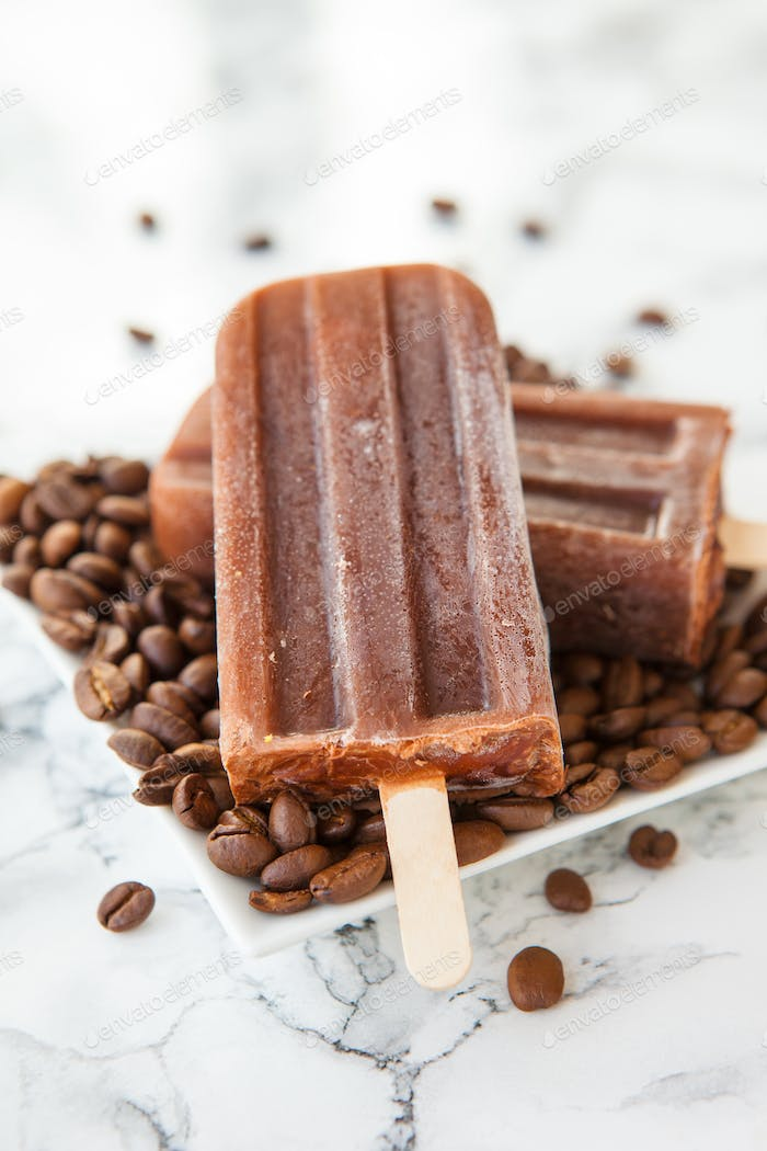 Ice cream popsicles