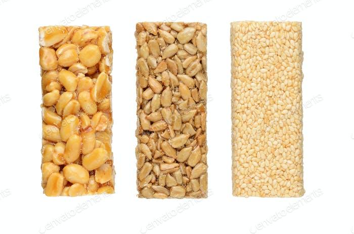 Peanut brittles
