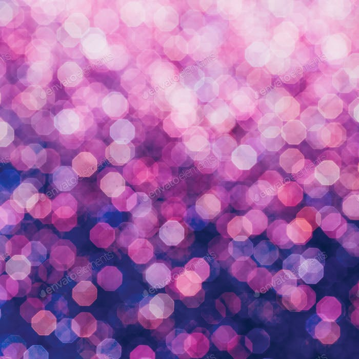 Purple bokeh minimal art design