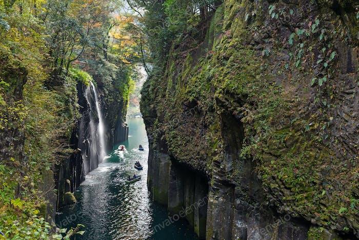 Takachiho gorge at Miyazaki