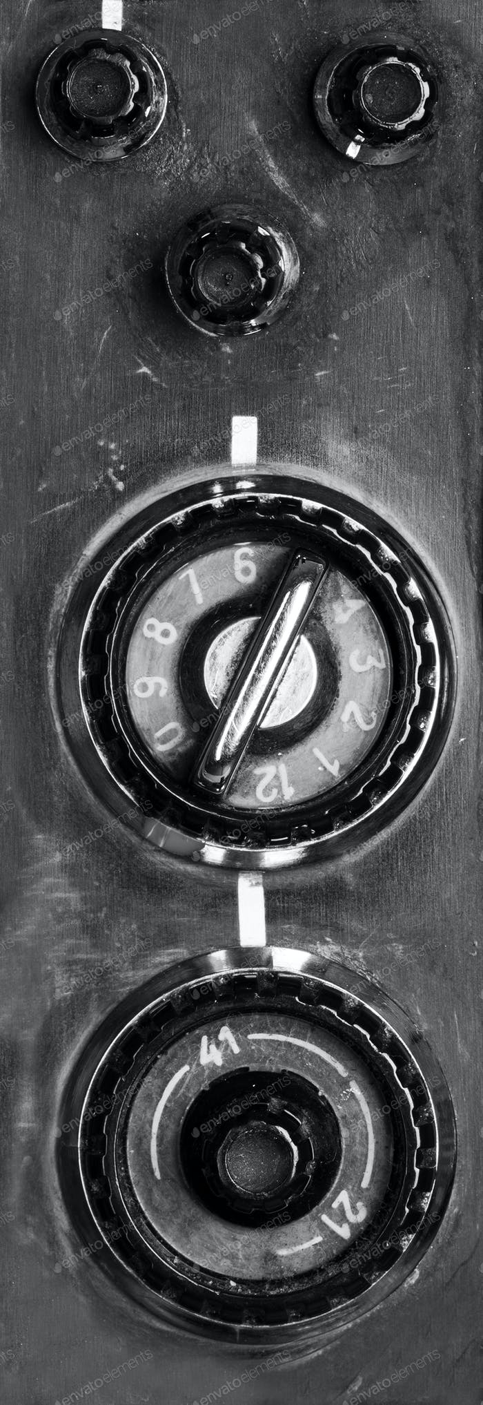 Vintage TV-Steuerung