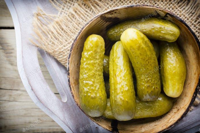 Pickle cucumber.
