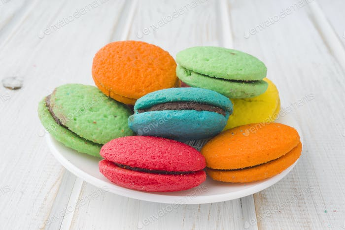 Colored cookies