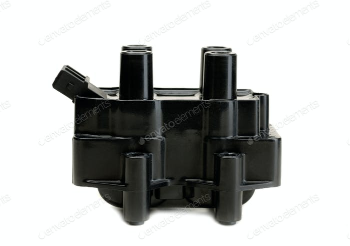 Ignition coil for gasoline four-cylinder internal combustion eng