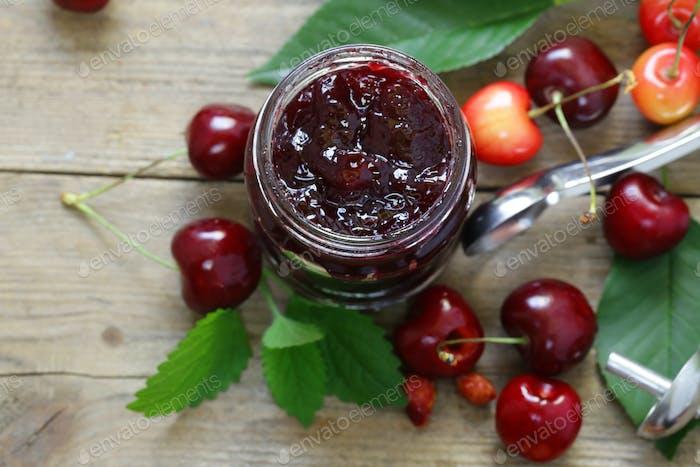 Organic Cherry Jam