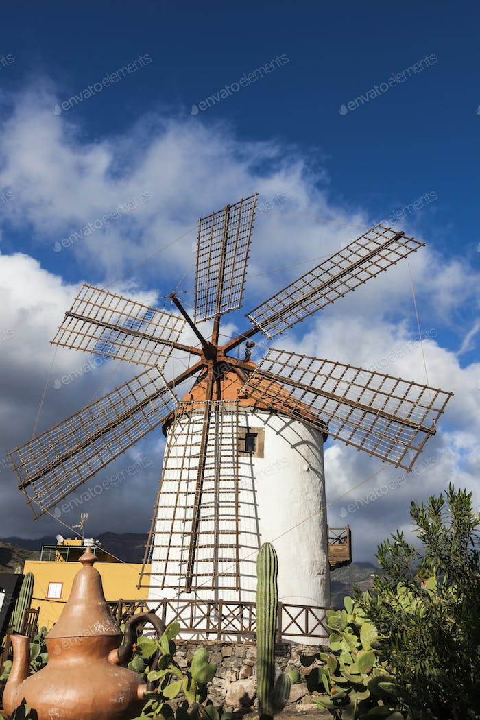 Windmill on Gran Canaria